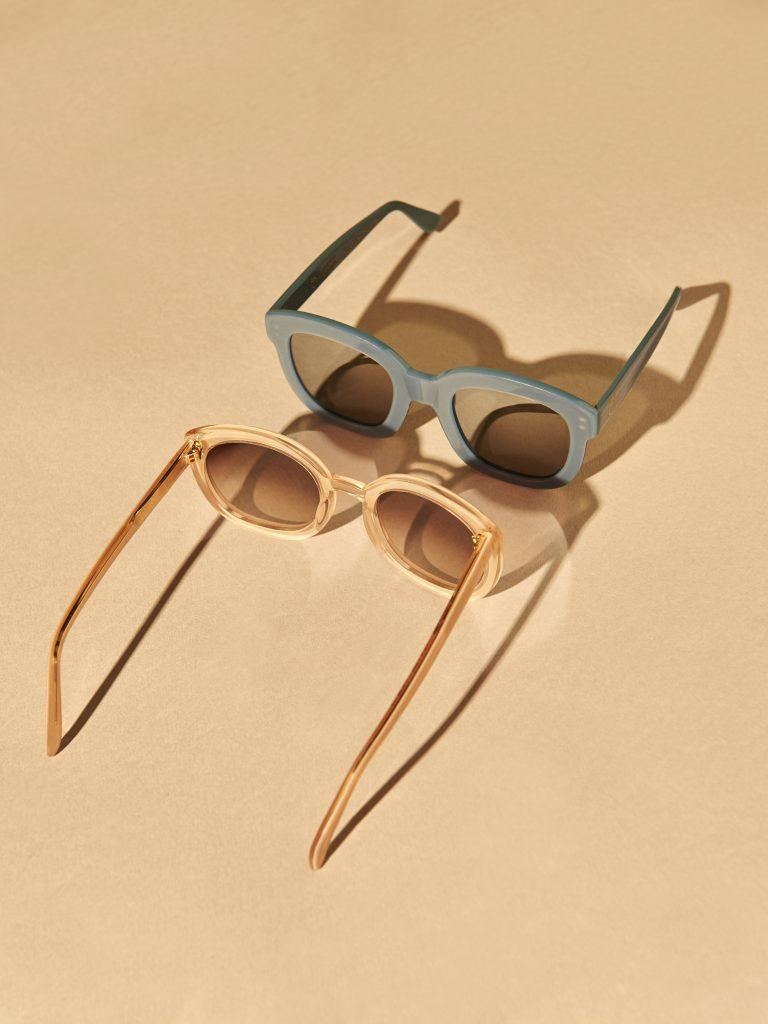 Emmanuelle Khanh lunette de soleil monture solaire