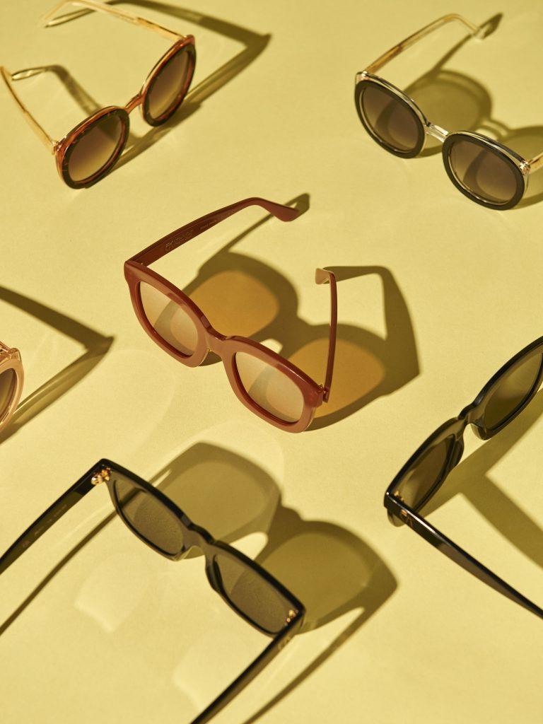 Emmanuelle Khanh lunettes monture solaires