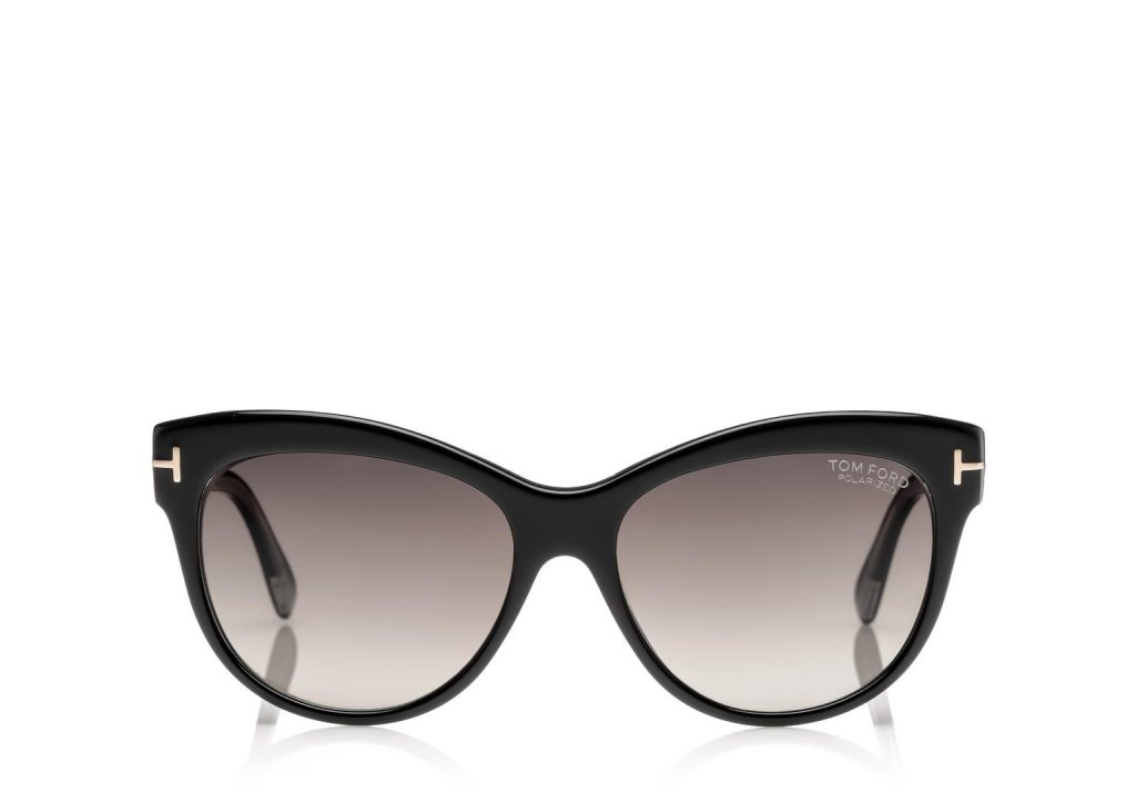 Tom ford look mode lunettes solaires femme