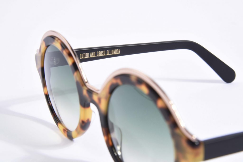 Cutler an Gross lunettes solaires Londres